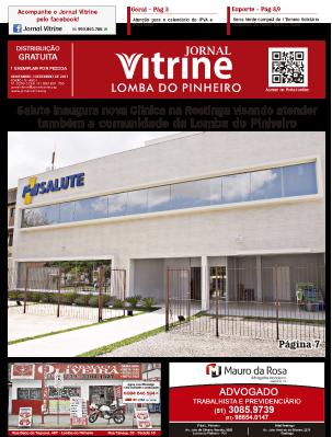 Jornal Vitrine Lomba do Pinheiro – Edição 18
