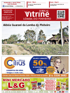 Jornal Vitrine Lomba do Pinheiro – Edição 15